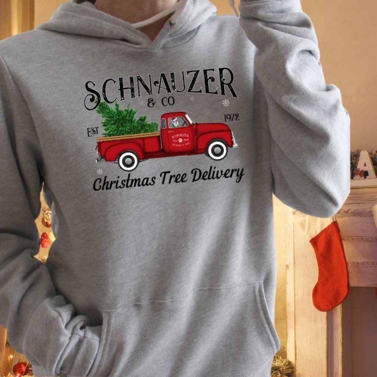 taras schnauzers shop christmas hoodie