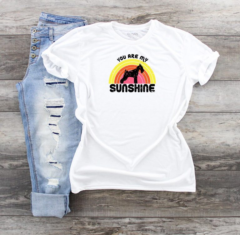 schnauzer-tshirt-you-are-my-sunshine