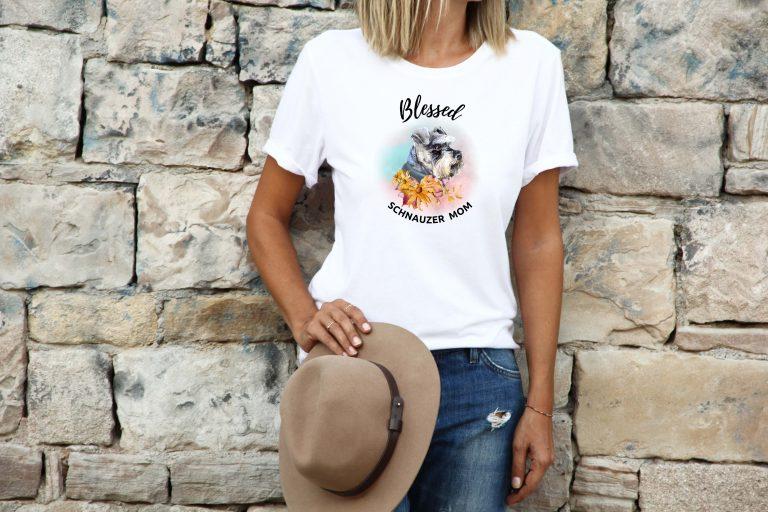 blessed-schnauzer-mom-tshirt