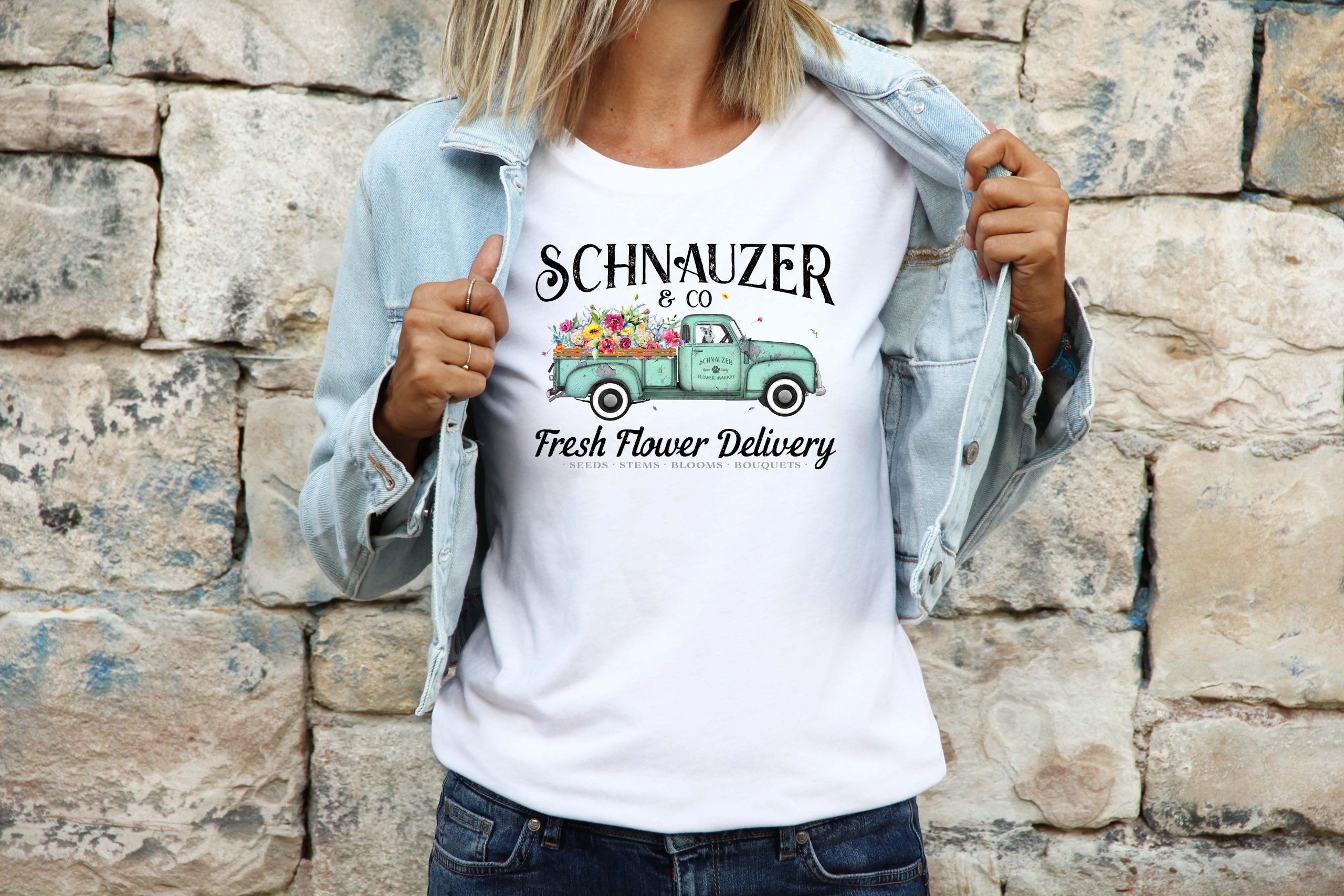womens-schnauzer-tshirt-mothers-day