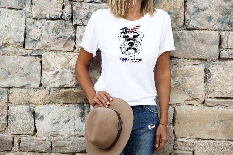 womens-schnauzer-tshirt-merica